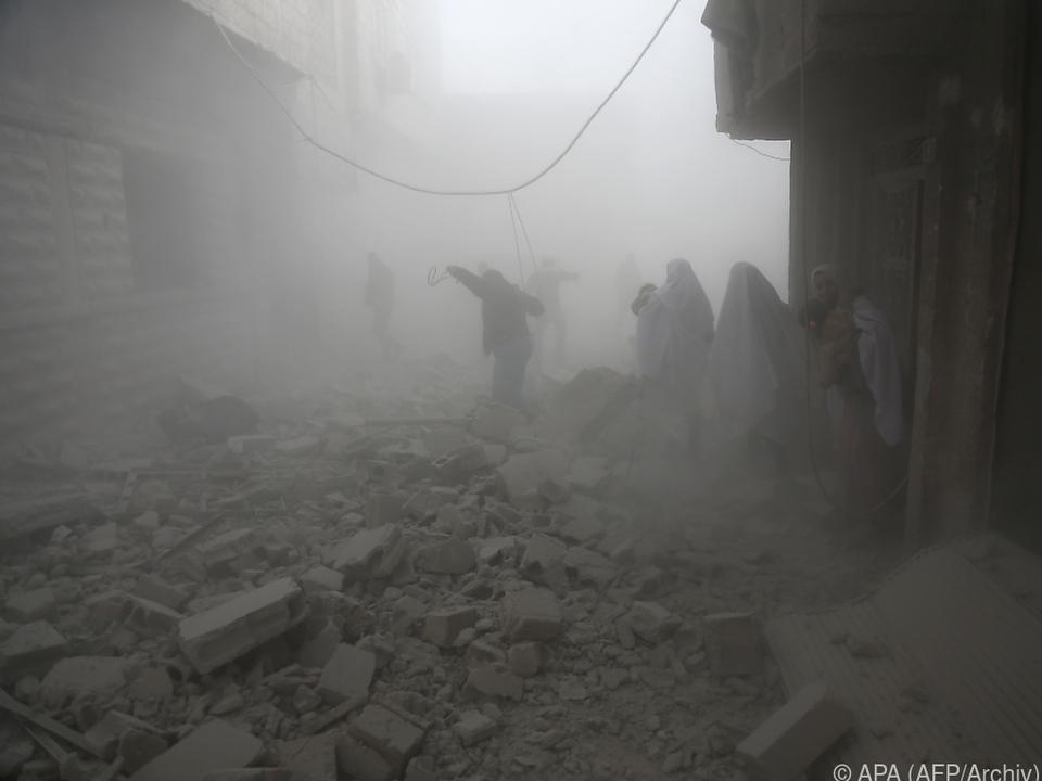 Tote bei Luftangriffen in Syrien - UN wegen Eskalation alarmiert