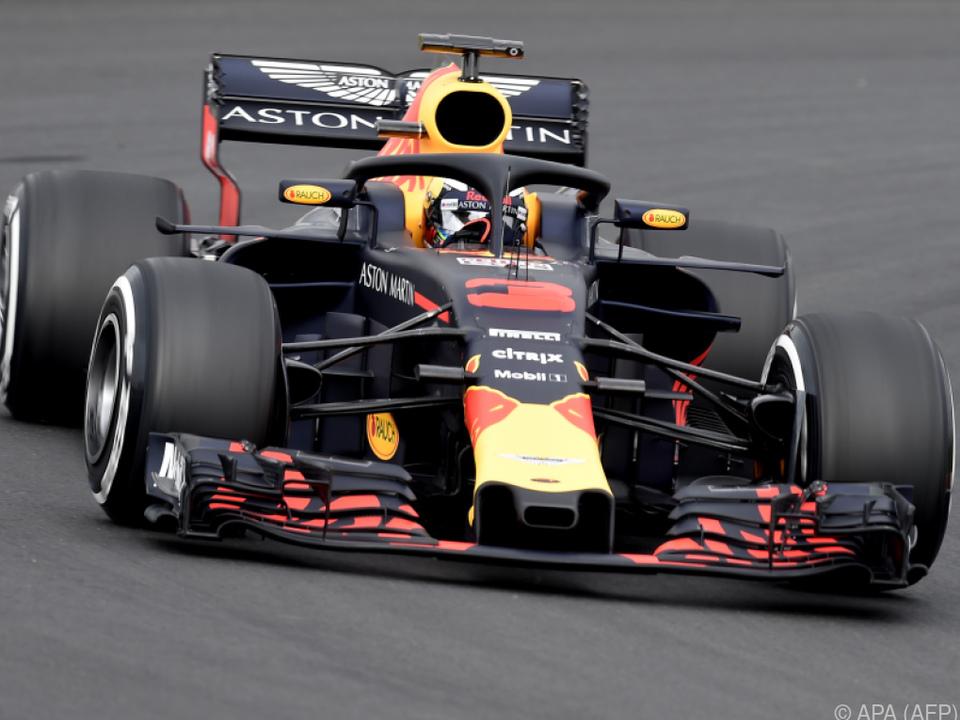 Ricciardo nimmt den Halo beim Fahren kaum wahr