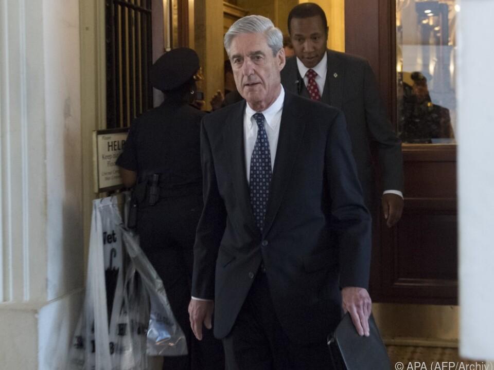 Robert Mueller ermittelt immer tiefer