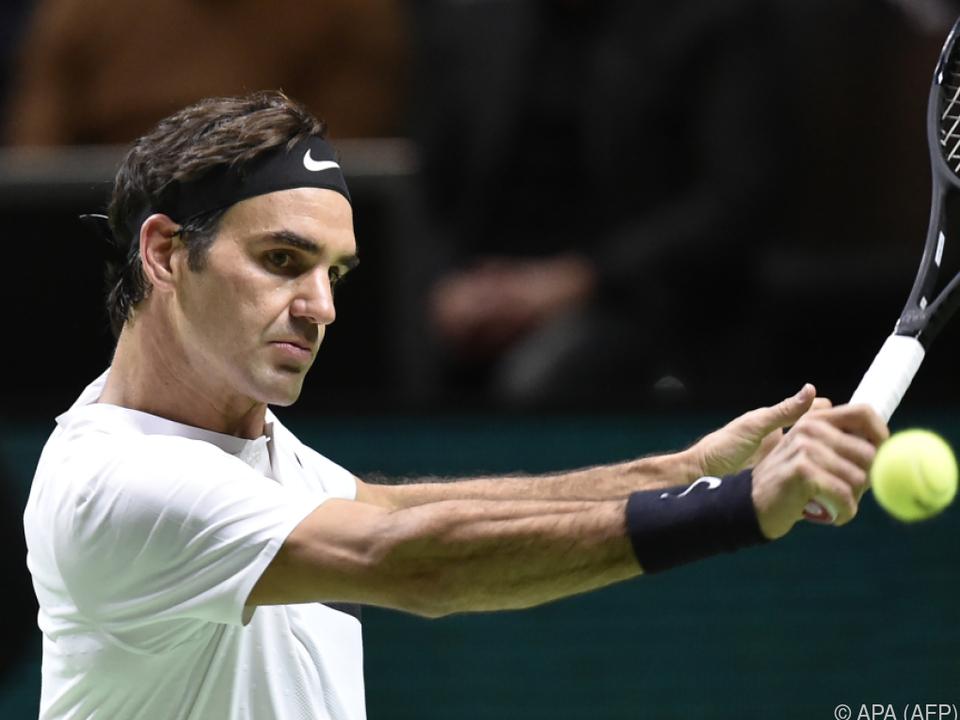 Roger Federer besteigt wieder den Tennis-Thron