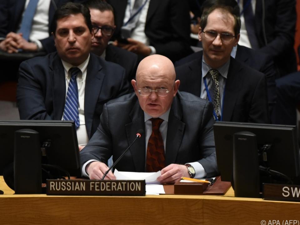 Russland stellt sich gegen Feuerpause in Syrien
