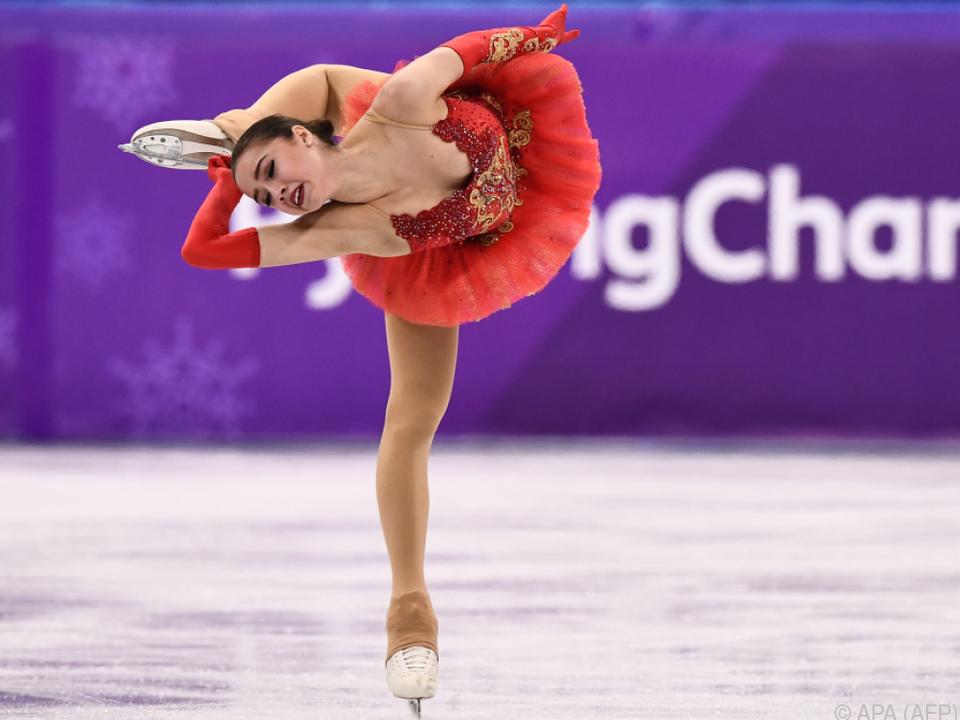 Eiskunstläuferin Zagitova holte erstes russisches Gold 2018