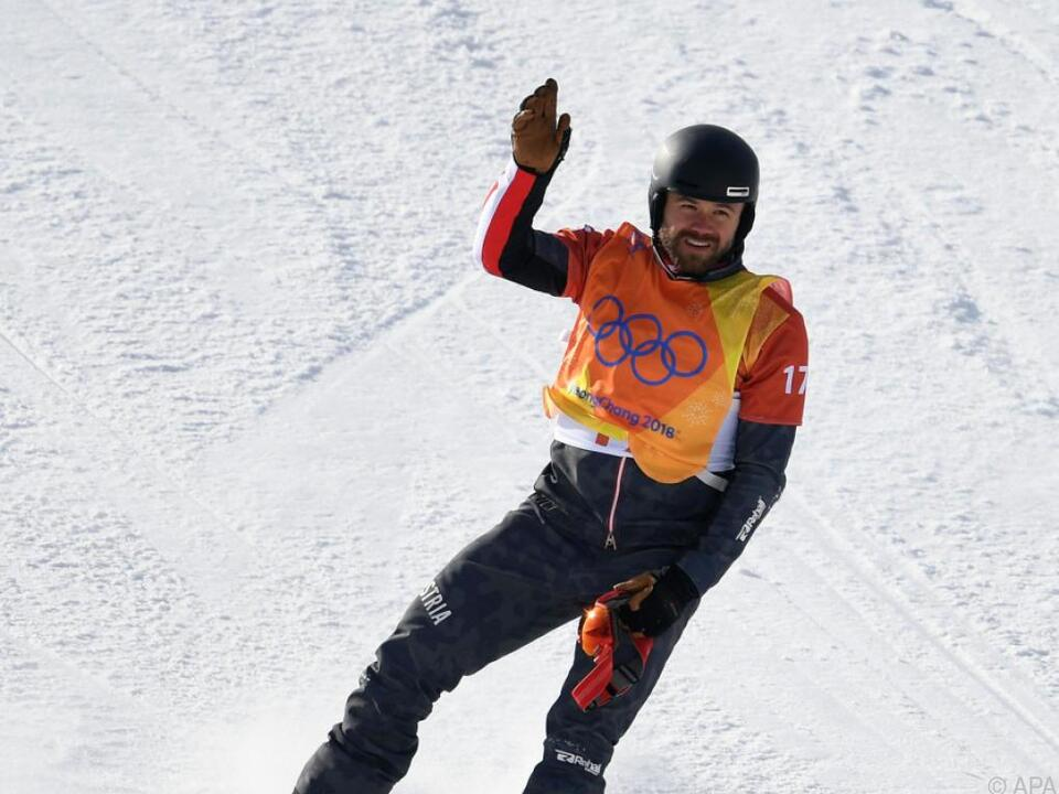 Schairer fuhr nach dem Sturz noch selbst den Berg hinunter