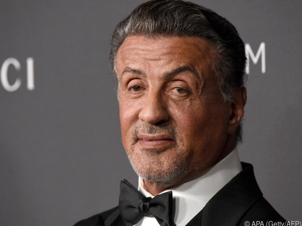 Schauspieler Stallone ist \