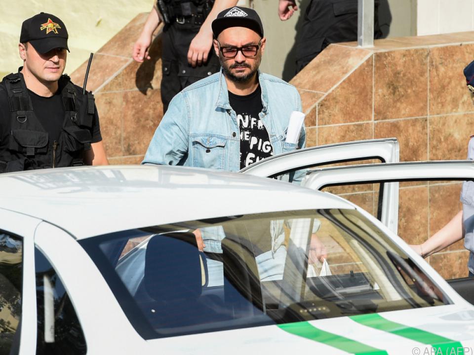 Serebrennikow wurde 2017 verhaftet