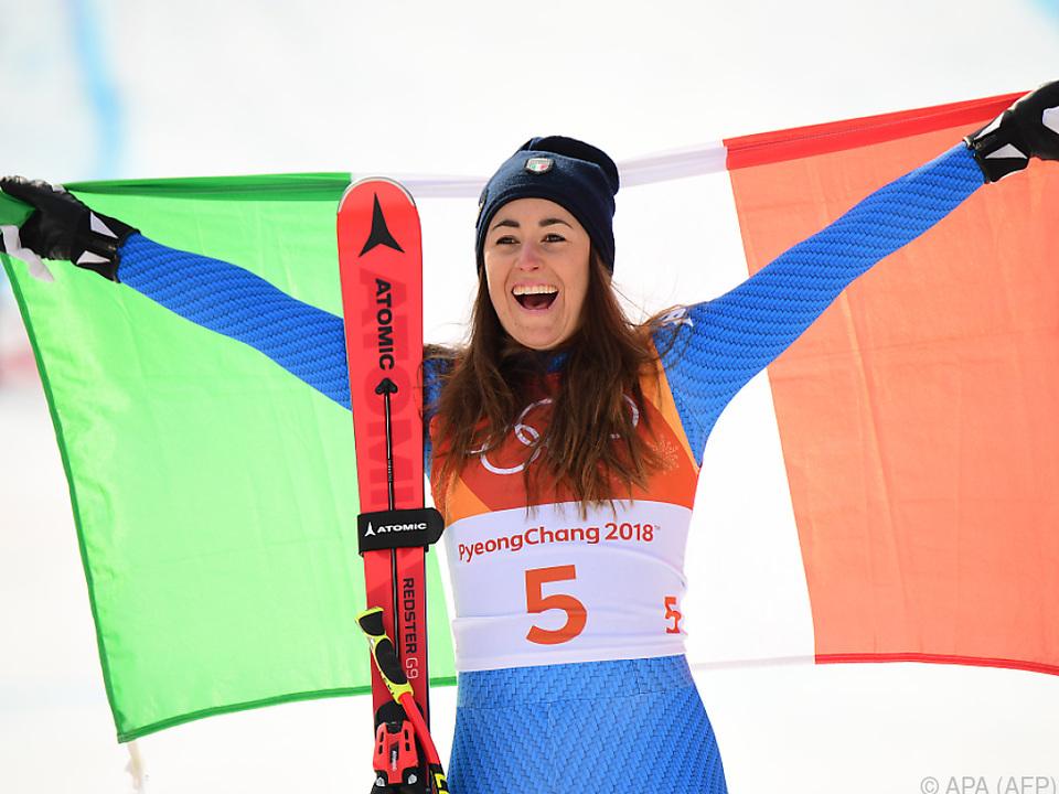 Sofia Goggia holte erstes Olympia-Damen-Abfahrts-Gold für Italien
