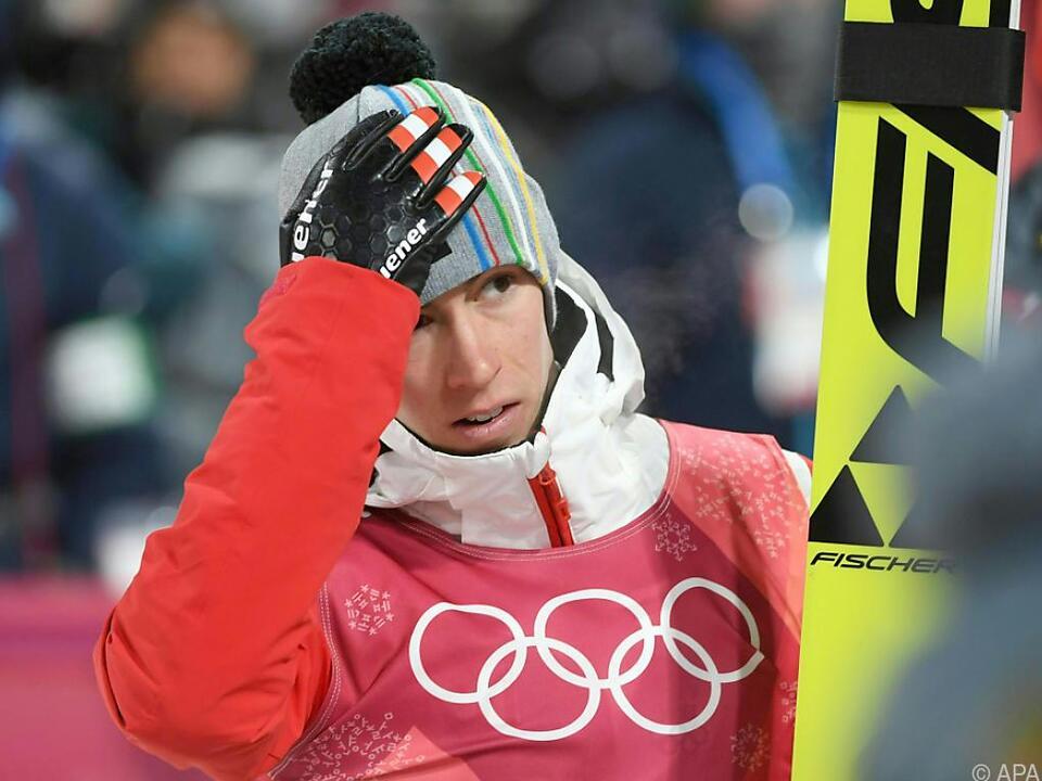 Stefan Kraft verpatzte seinen zweiten Sprung