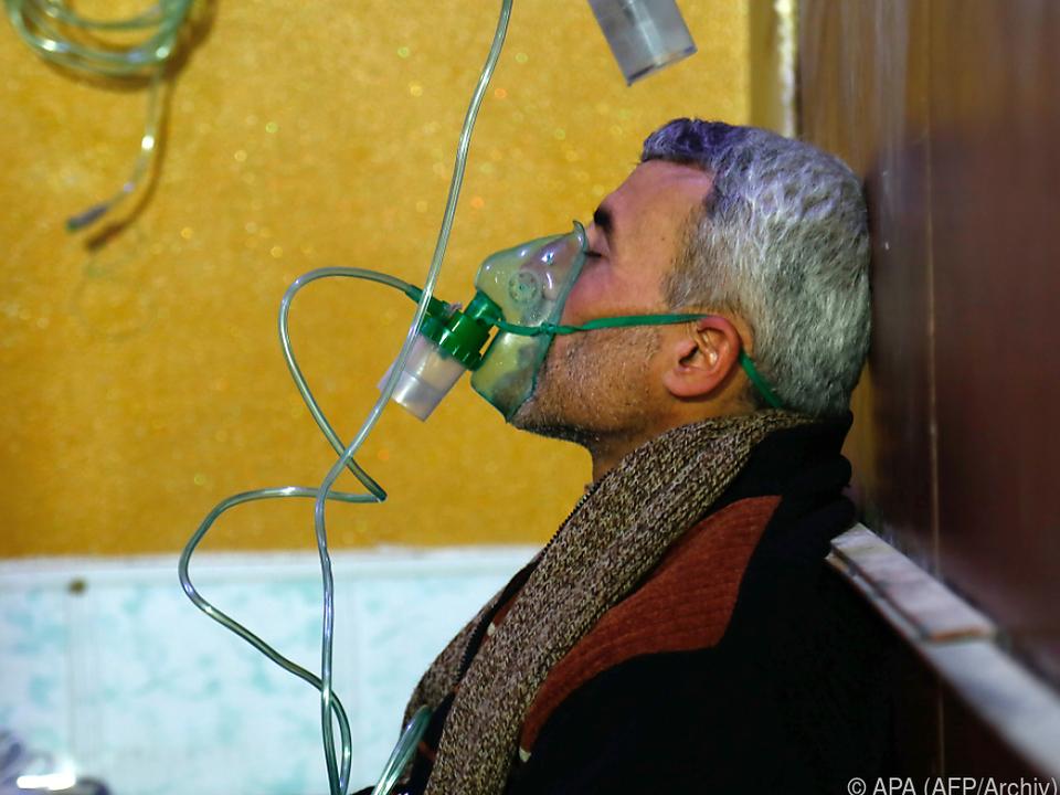 Syriens Regierung wird mehrfach vorgeworfen, Giftgas einzusetzen