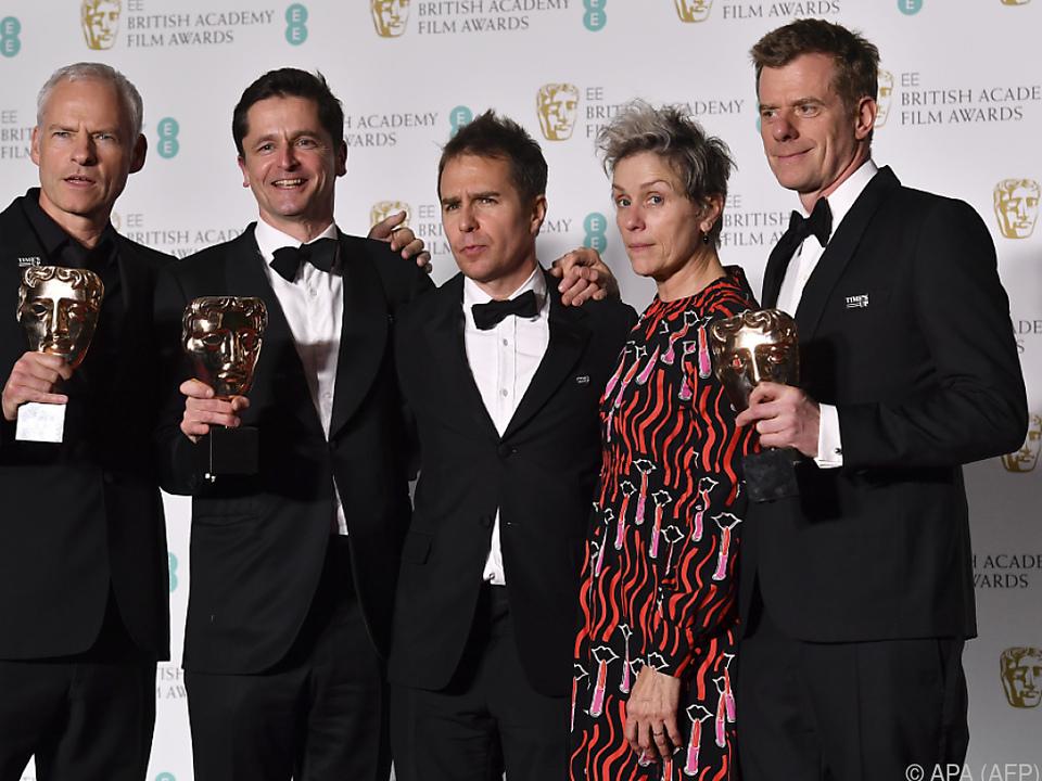 Britischer Filmpreis: Fünf Baftas für besten Film