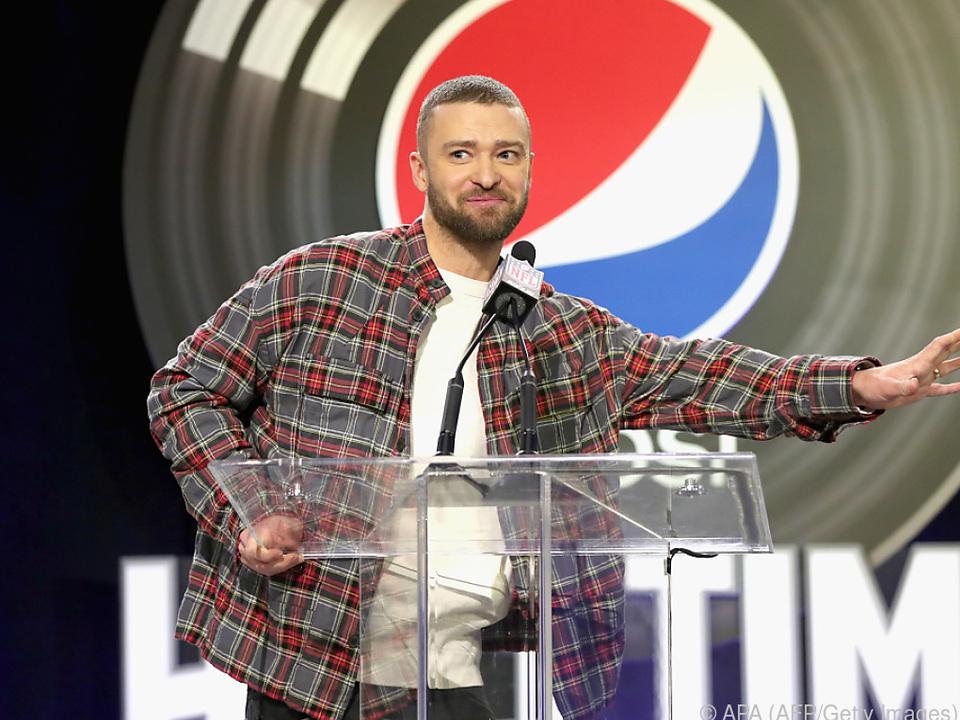 Timberlake wird mit seiner Band Tennessee Kids auftreten