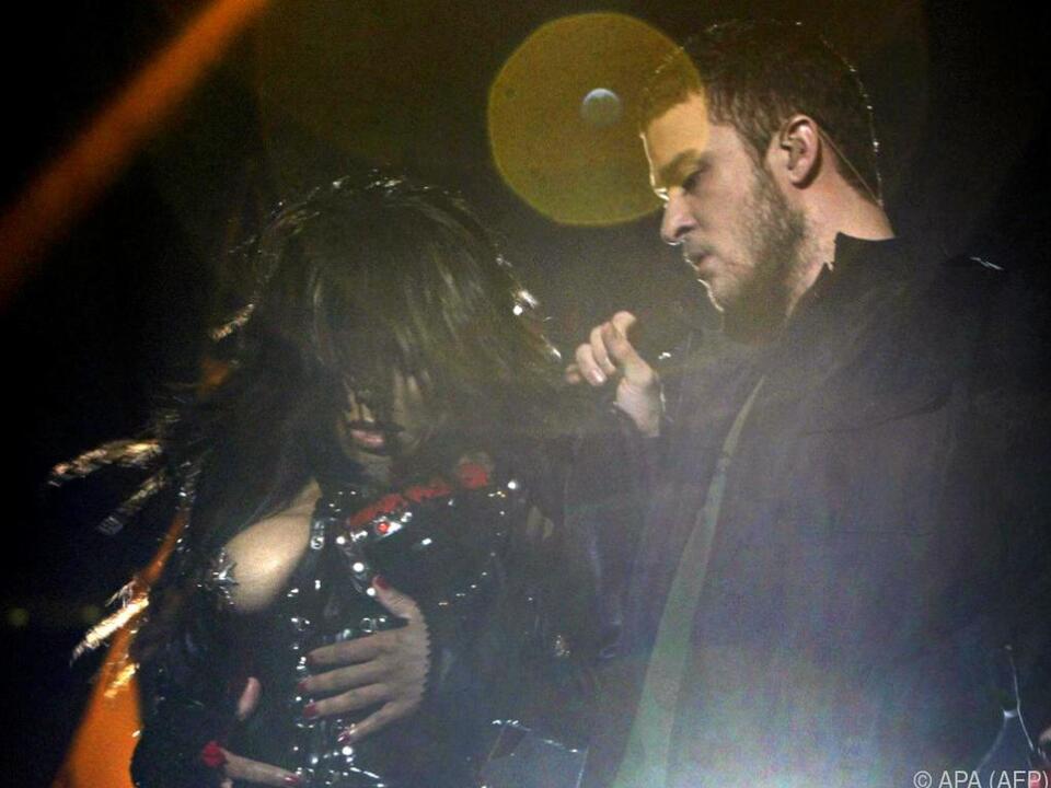 Der Auftritt 2004 mit Janet Jackson war keine so gute Idee