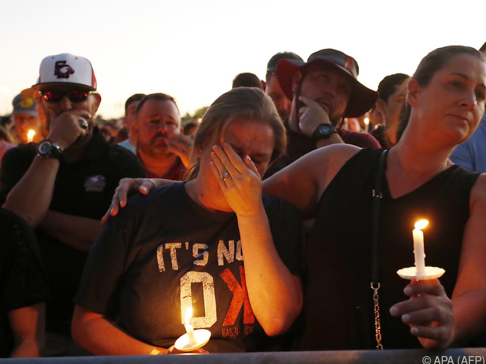 Trauer nach der Schießerei an einer High School in Parkland