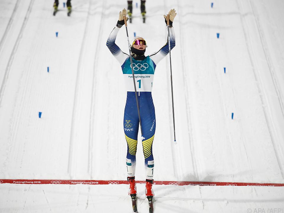 Triumph der Schwedin Stina Nilsson