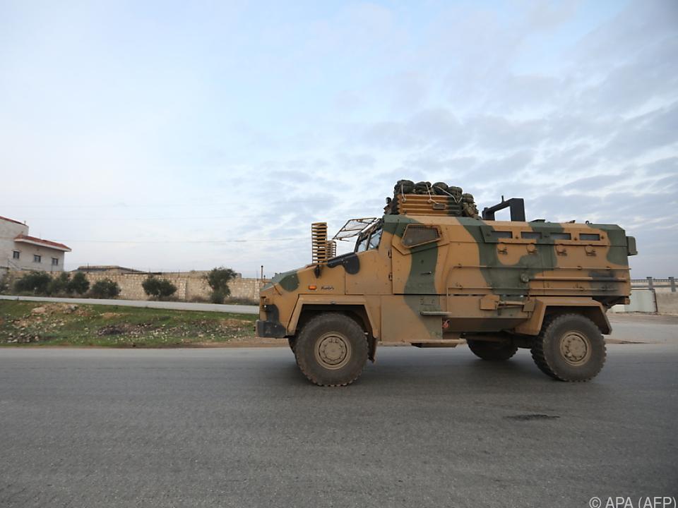 Türkei griff im Jänner militärisch in Syrien ein