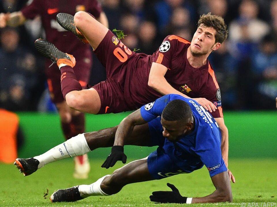 Unentschieden zwischen den Blues und Barca