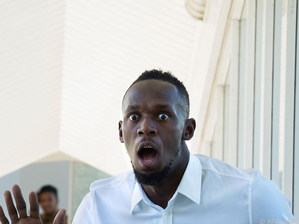 Usain Bolt träumt von einer Karriere als Fußball-Star