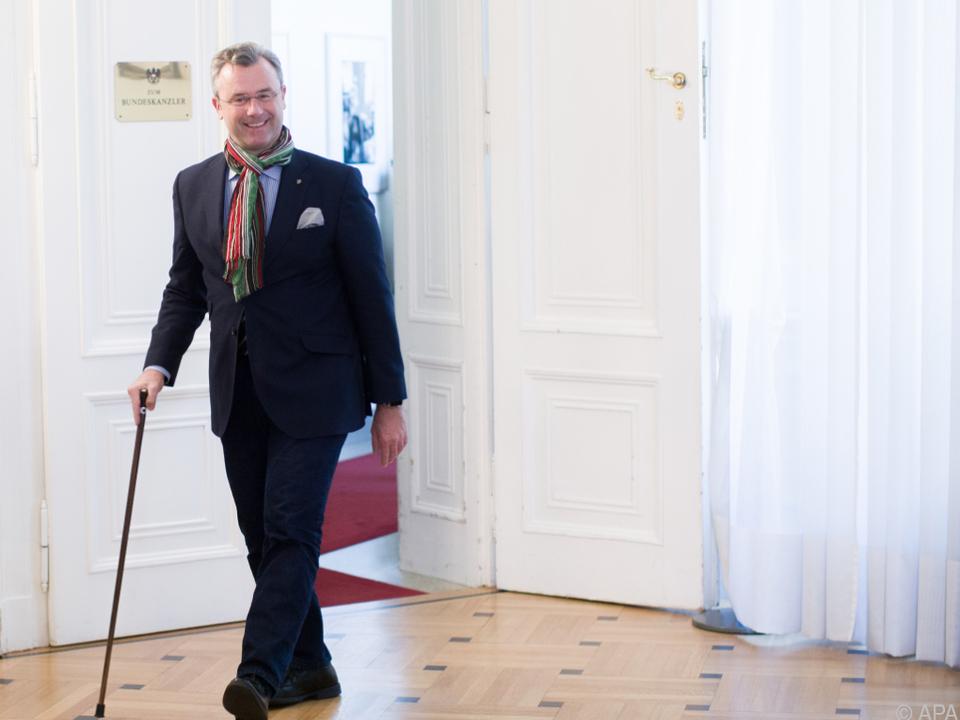 Verkehrsminister Norbert Hofer