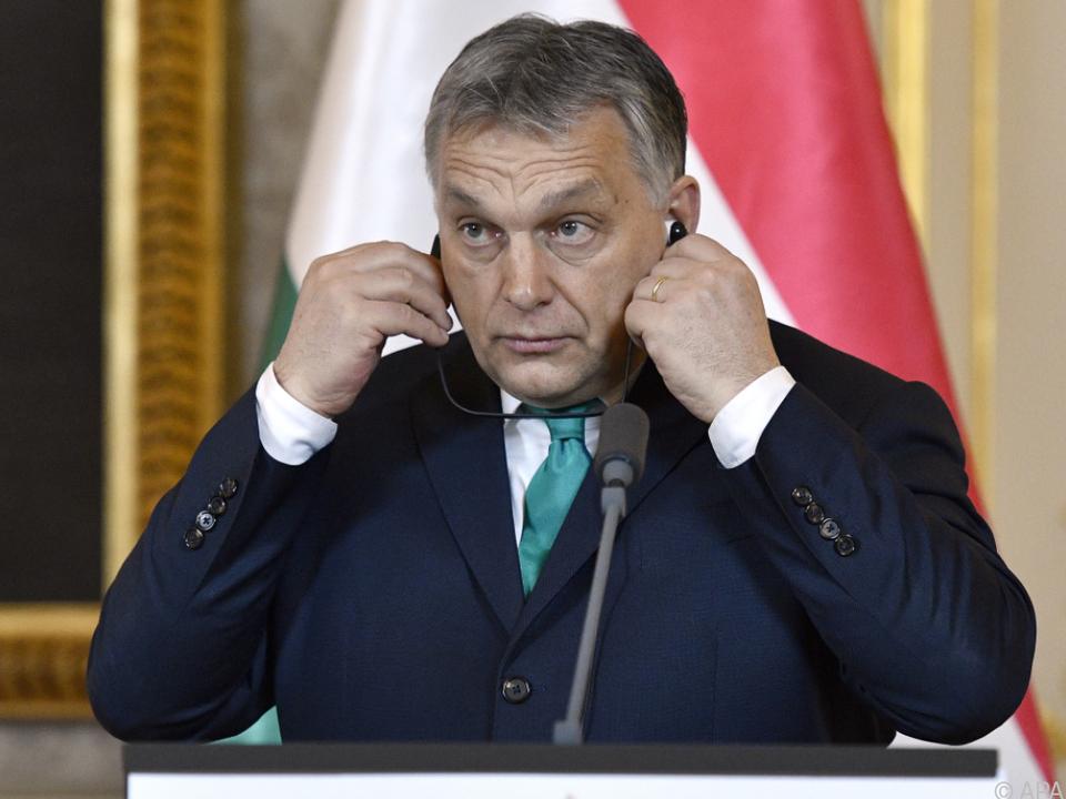 Viktor Orban brachte Gesetzespaket ein