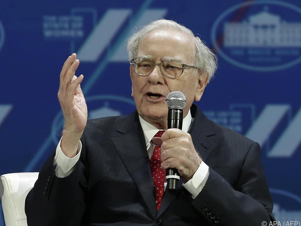 Warren Buffett hat weiter Spaß am Geldverdienen