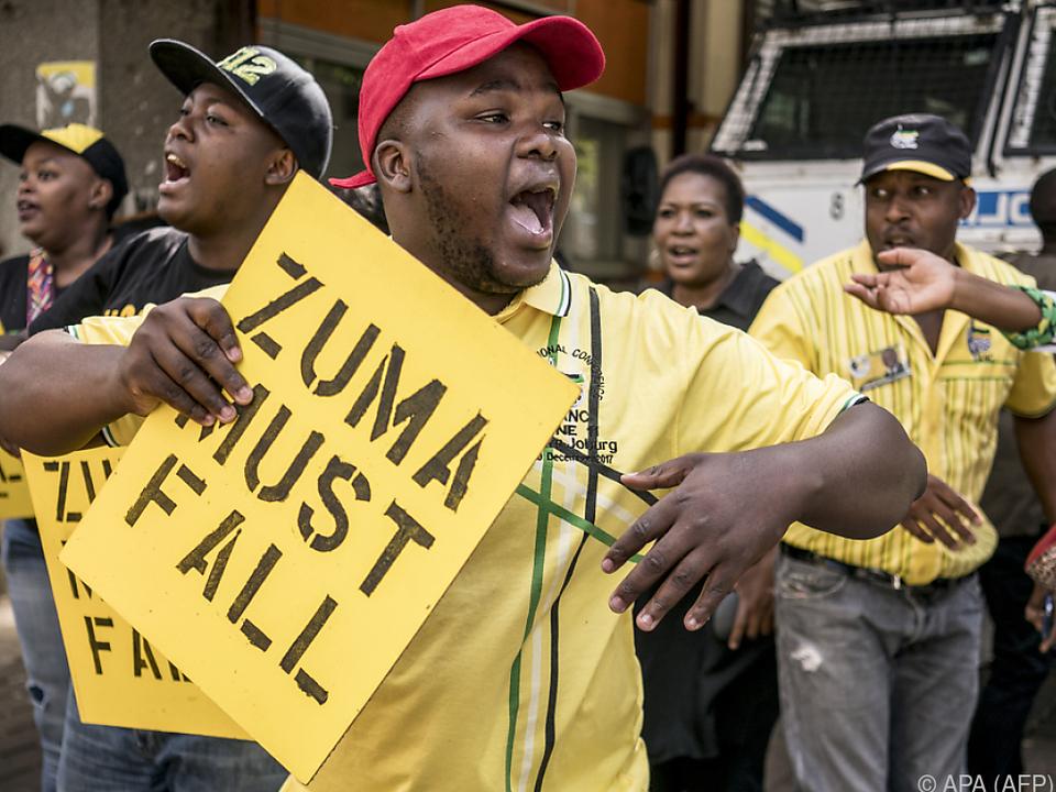 Zuma wird Korruption vorgeworfen