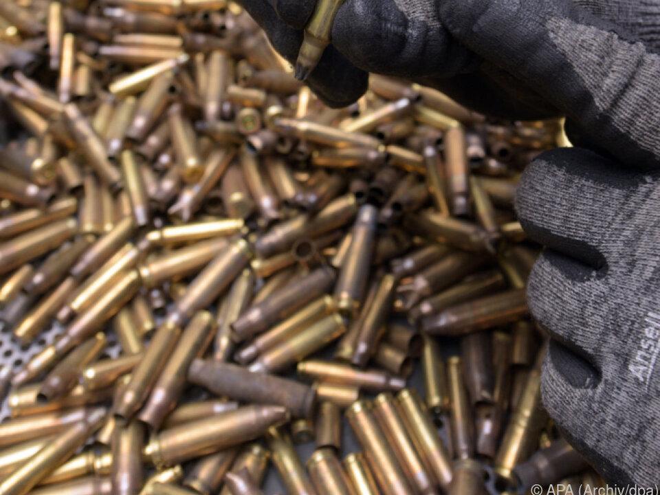 Zur Explosion kam es im Munitionslager