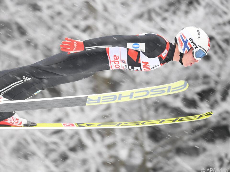 Zweiter Weltcupsieg für Johann Andre Forfang