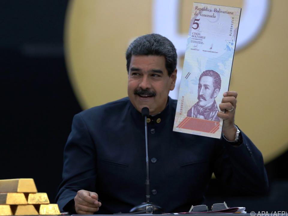 1.000 Bolivar sollen ab 4. Juni ein Bolivar wert sein