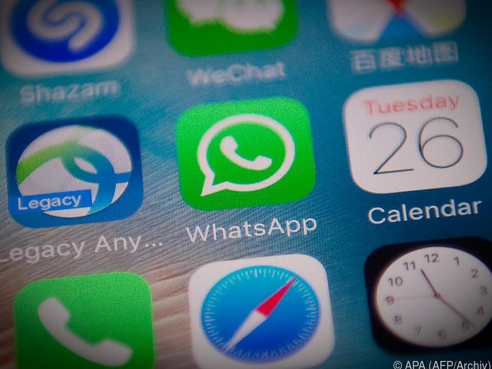 85 Prozent der Befragten nutzen WhatsApp