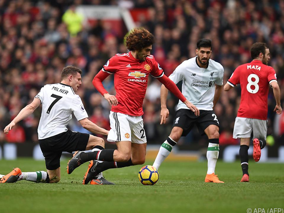 90 Minuten lang hart umkämpft war der Ball in Manchester