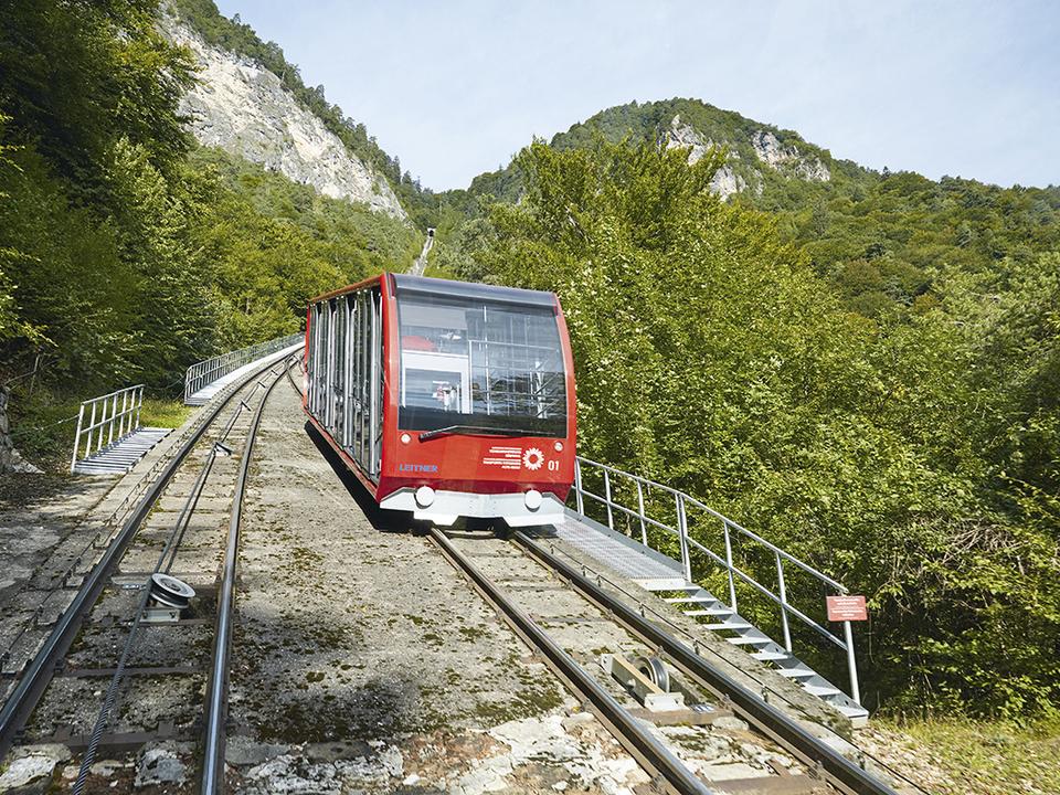 Mendelbahn Mendel-Standseilbahn