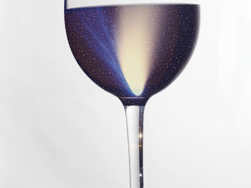 Alkohol im Weltall Cocktailabend Planetarium 989054_20180306_weinkosmos_stuartwebsterweinglass_kolmhoferraabcomet