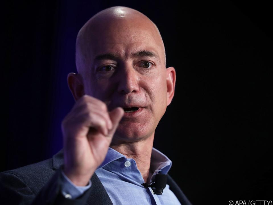 Amazon-Chef verwies Gates auf Rang zwei