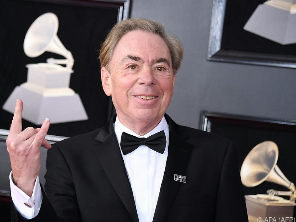Andrew Lloyd Webber wurde in seiner Karriere von Preisen überhäuft