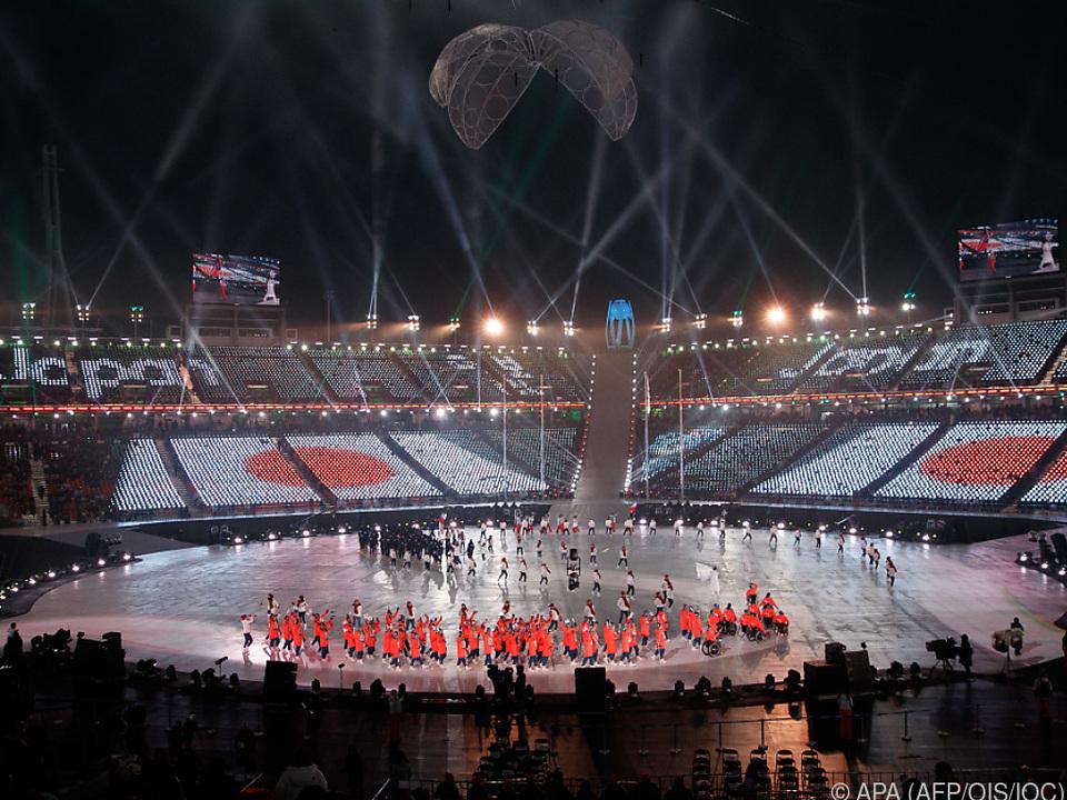 Auch die Paralympics-Eröffnung war prachtvoll