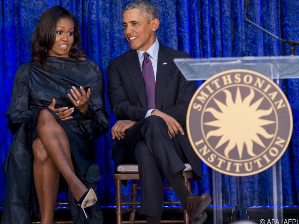 Barack und Ehefrau Michelle könnten Teil der Show werden