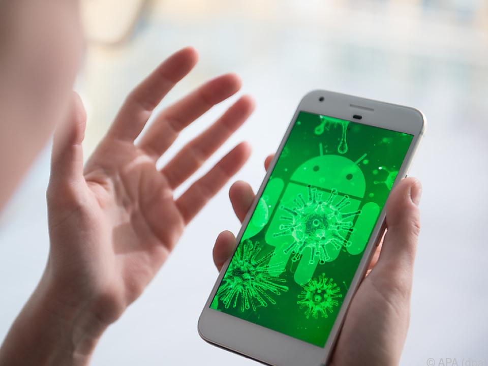 Bei Android ist Vorsicht geboten
