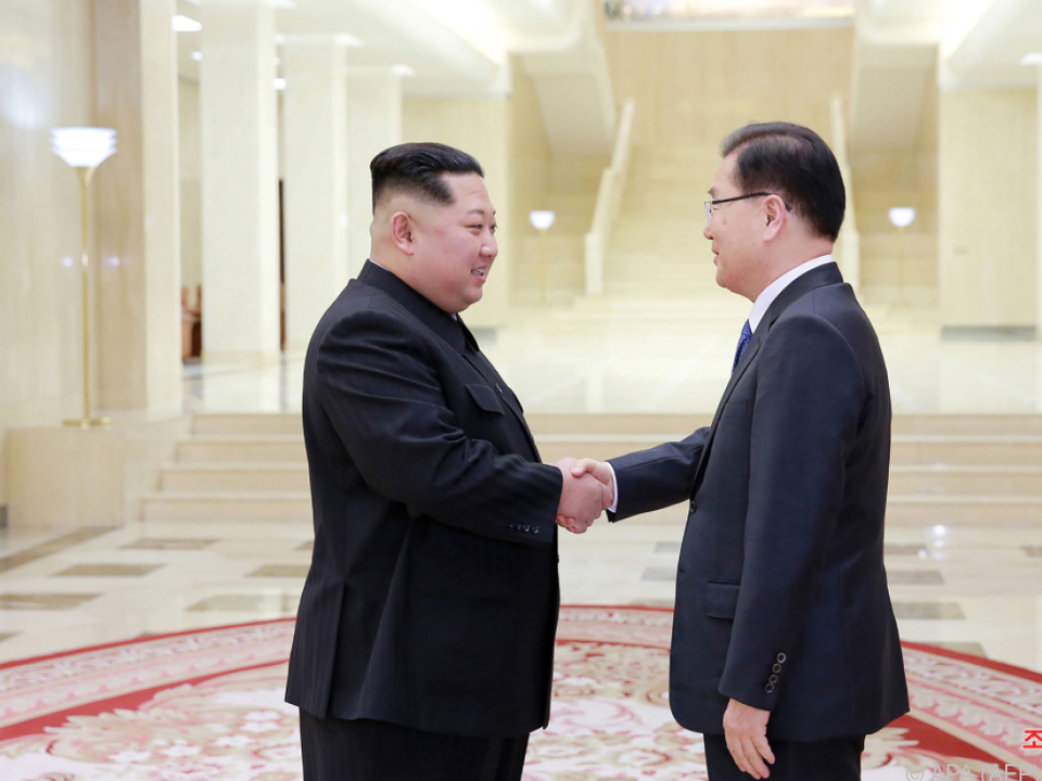 Beide Koreas einigten sich auf ein Gipfeltreffen Ende April