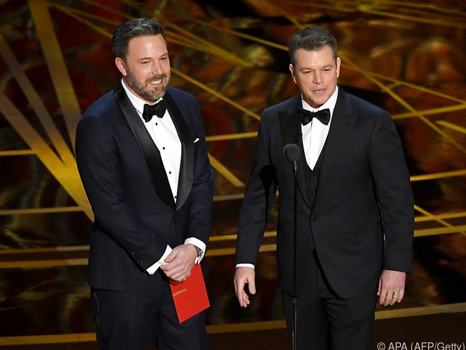 Ben Affleck und Matt Damon unterstützen die \
