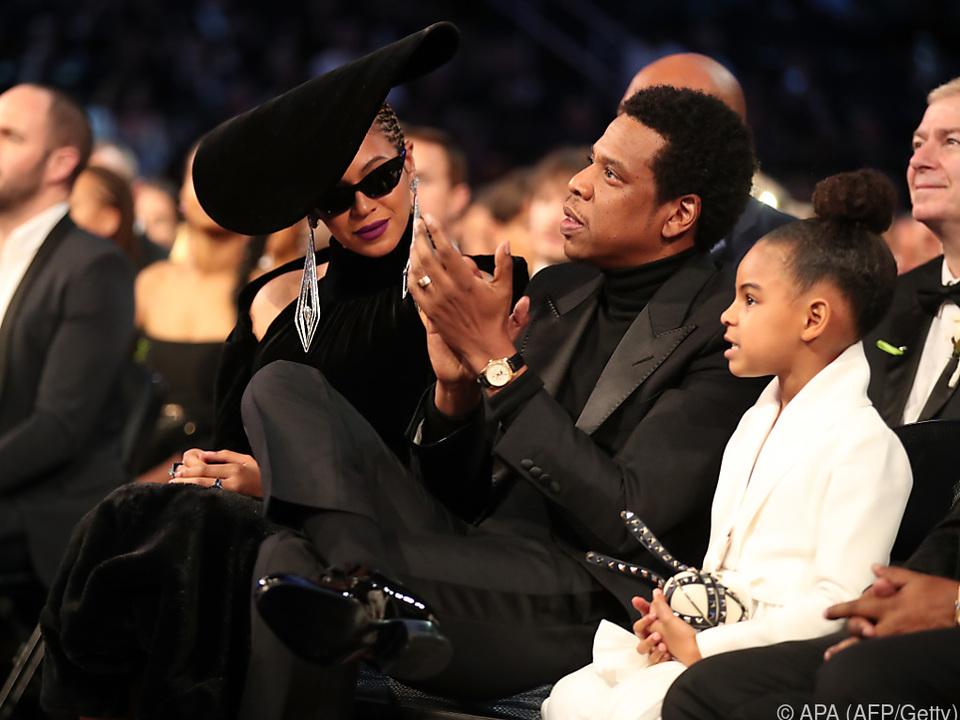 Beyonce mit Familie bei den Grammy Awards