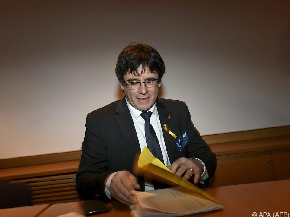Carles Puigdemont könnte nach Spanien ausgeliefert werden