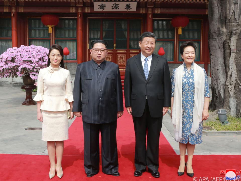 China versicherte Nordkorea seine Freundschaft