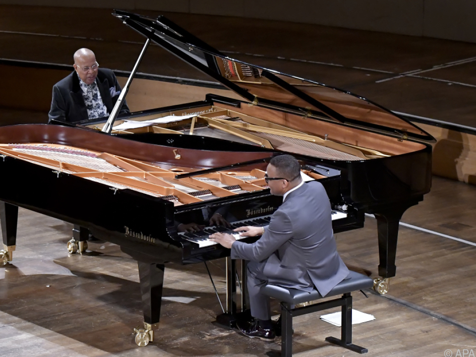 Chucho Valdes und Gonzalo Rubalcaba im Konzerthaus