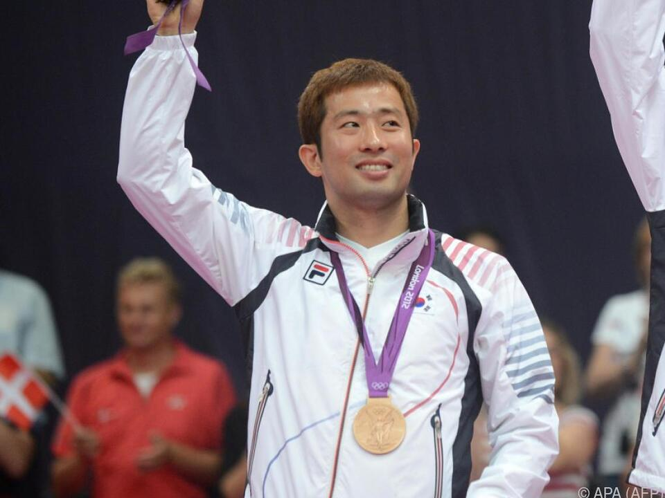 Chung Jae Sung gewann mit Partner Lee Yong Dae Bronze