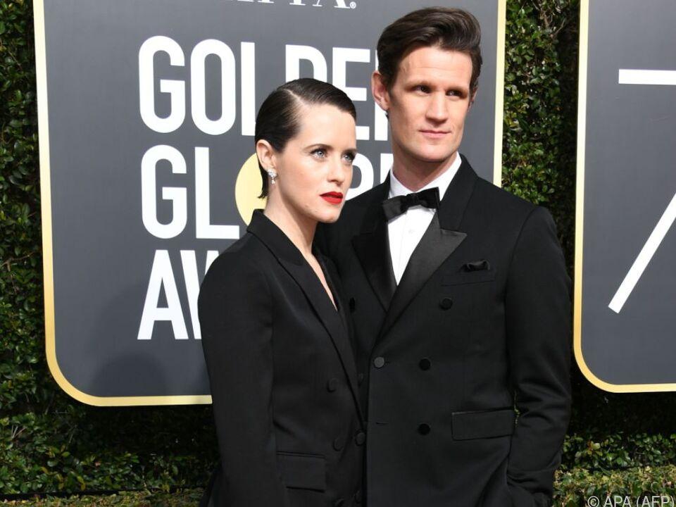 Claire Foy (l.) verdient weniger als ihr Film-Ehemann Matt Smith (r.)