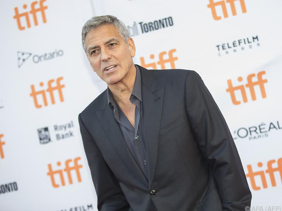 Clooney sicherte Unterstützung zu