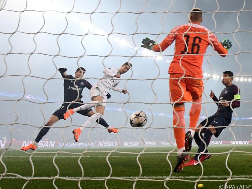 Cristiano Ronaldo erzielte 1:0 für Real Madrid