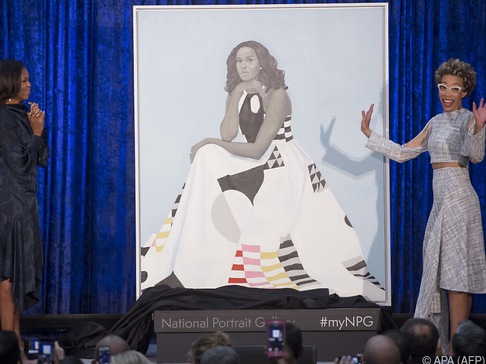 Das Bild von Michelle Obama erfreut sich großer Beliebtheit