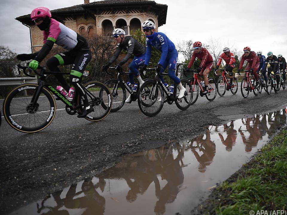 Das Rennen fand teils bei schwerem Regen statt