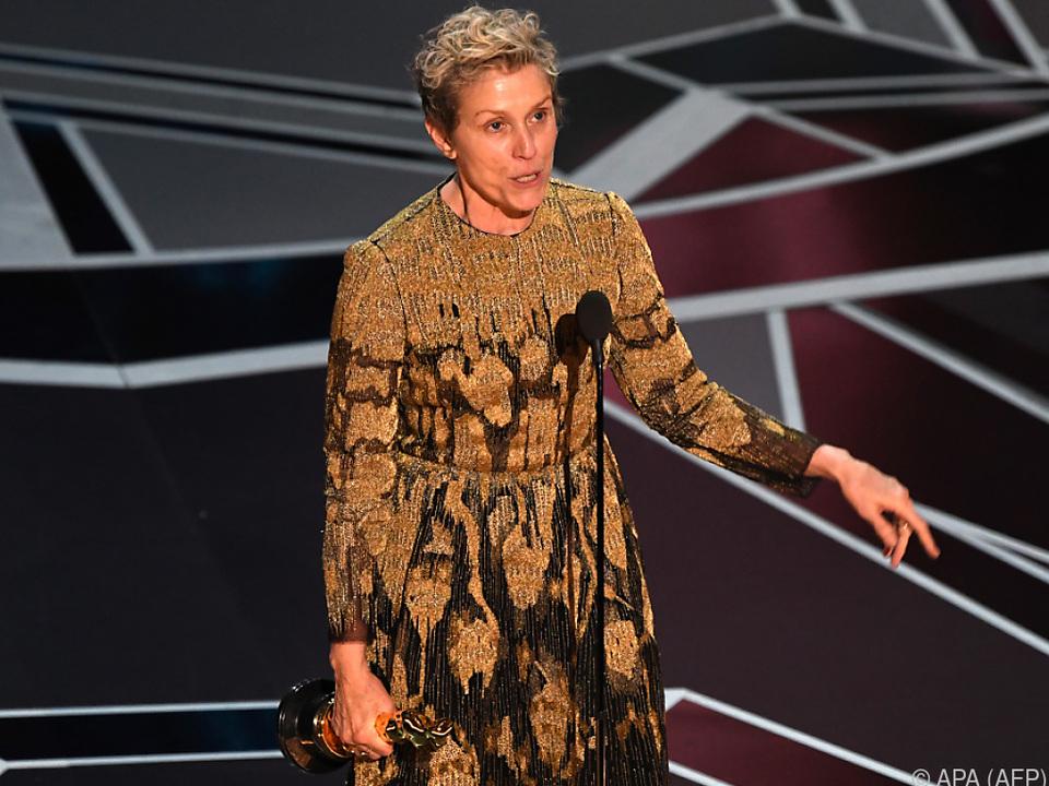 Den ersten Oscar holte sie vor 20 Jahren für \