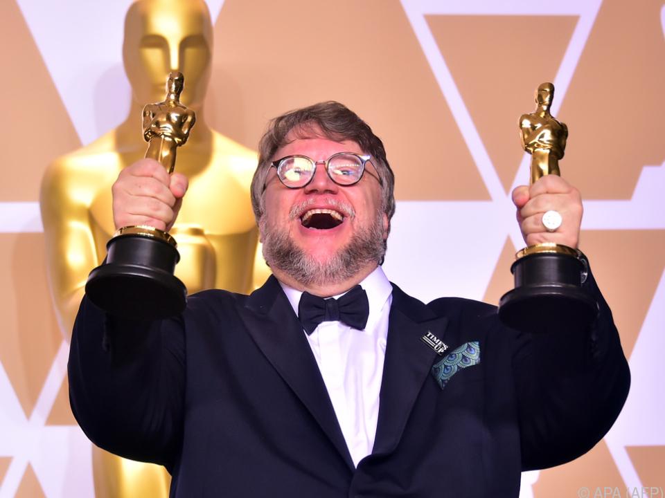 Der 53-jährige Mexikaner jubelt über seine Oscars